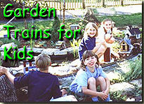 Garden Trains for Kids