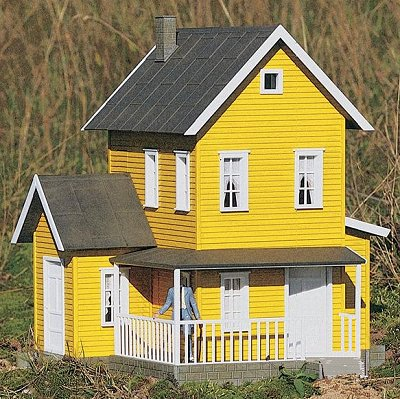 Model painting for houses