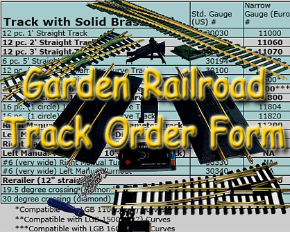 Cross-reference list of most popular track pieces from the most popular manufacturer. Click to go to article